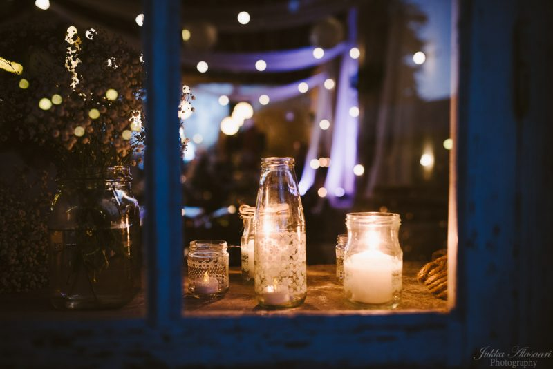 hääkuvaus teijo mathildedal ruukkitehdas kynttilät