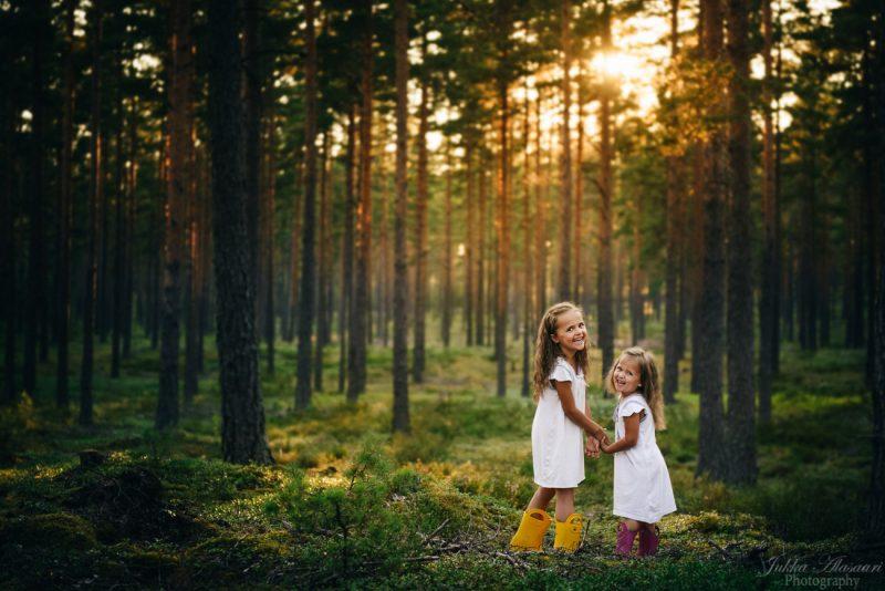 lapsikuvaus helsinki metsä