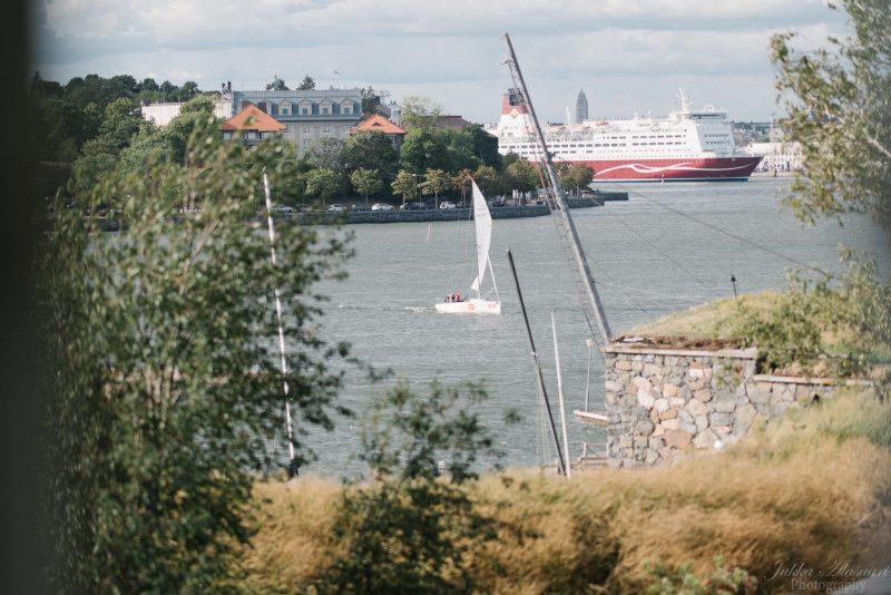 hääkuvaus helsinki särkänlinna Viking Line ja meri